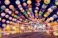 [分享] 台南 西羅殿建醮 普濟殿主普場 府城超美燈籠隧道!普濟燈會五年回顧展!