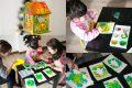 [分享] 台南 歸仁 一起來玩 Studio畫室 耶誕卡片夜燈製作!兒童美語繪畫才藝班!