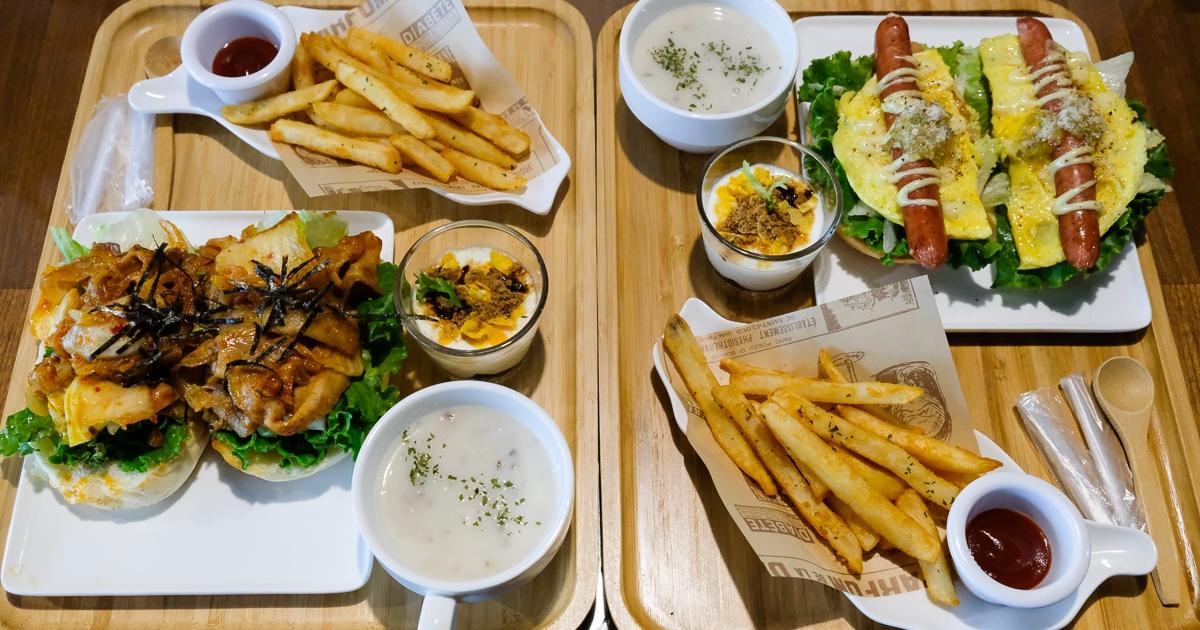 [美食] 台南 福聚新輕食 早午餐