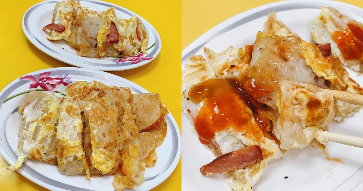 【台南美食】棉花糖早餐 原國華街麵糊蛋餅 蛋餅外酥內軟嫩、好吃入口即化、便宜好吃的早餐店!